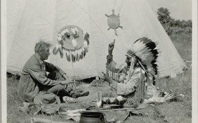 Seton's Relationship with Native Americans and First People by Dee Seton Barber