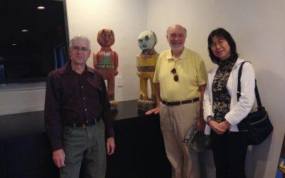Ernest Thompson Seton Gallery Visitors