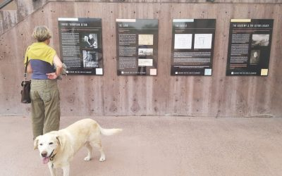 Interpretive Panels at Seton Castle