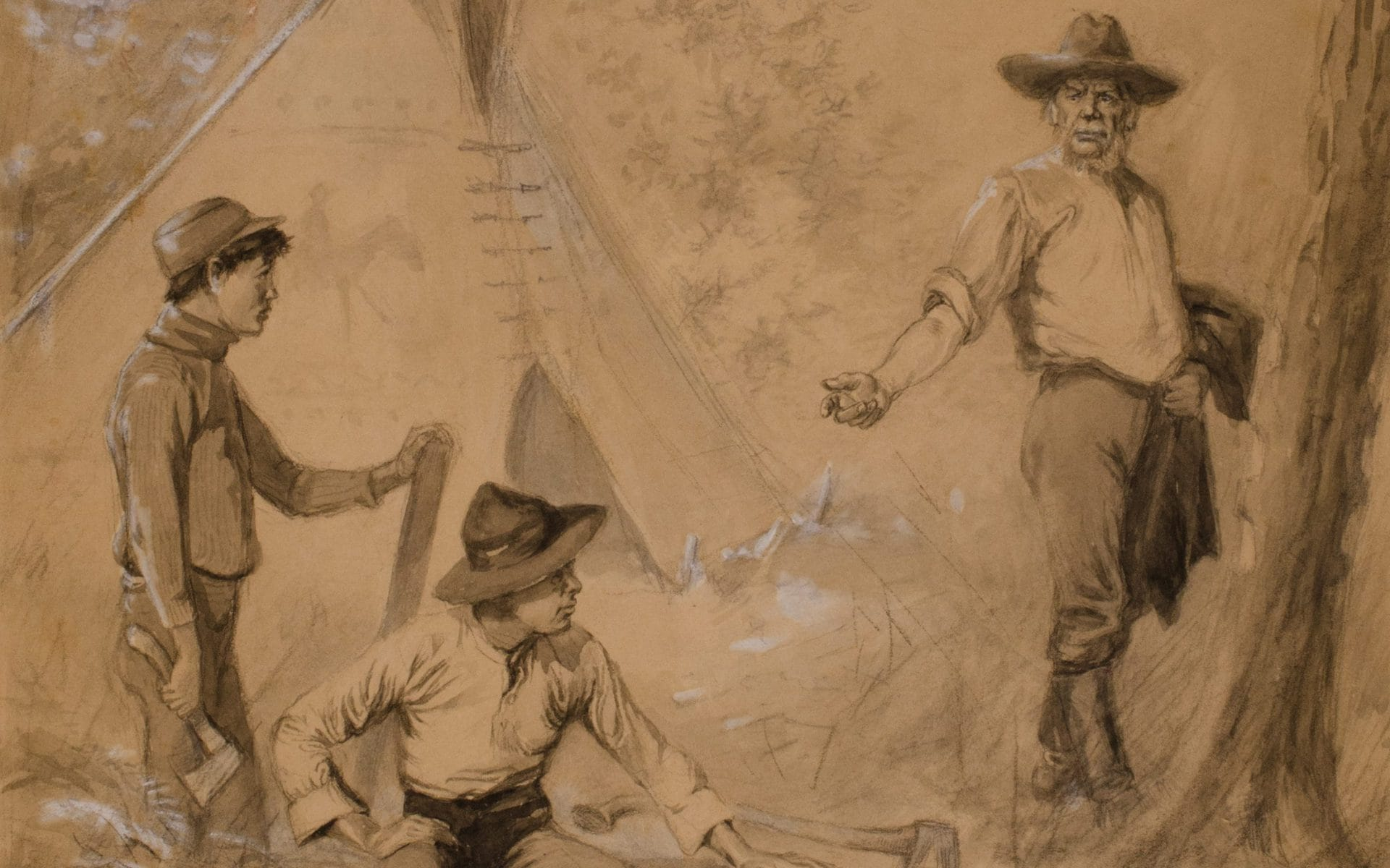 Boy Environmentalist finds Role Models Biography 1870s