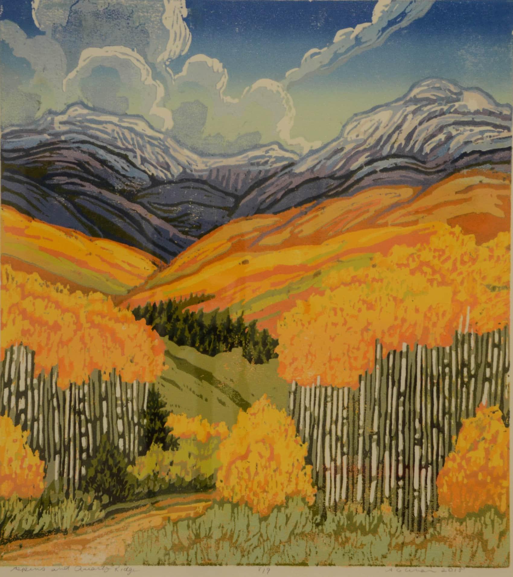 Angie Coleman Autumn Landscape