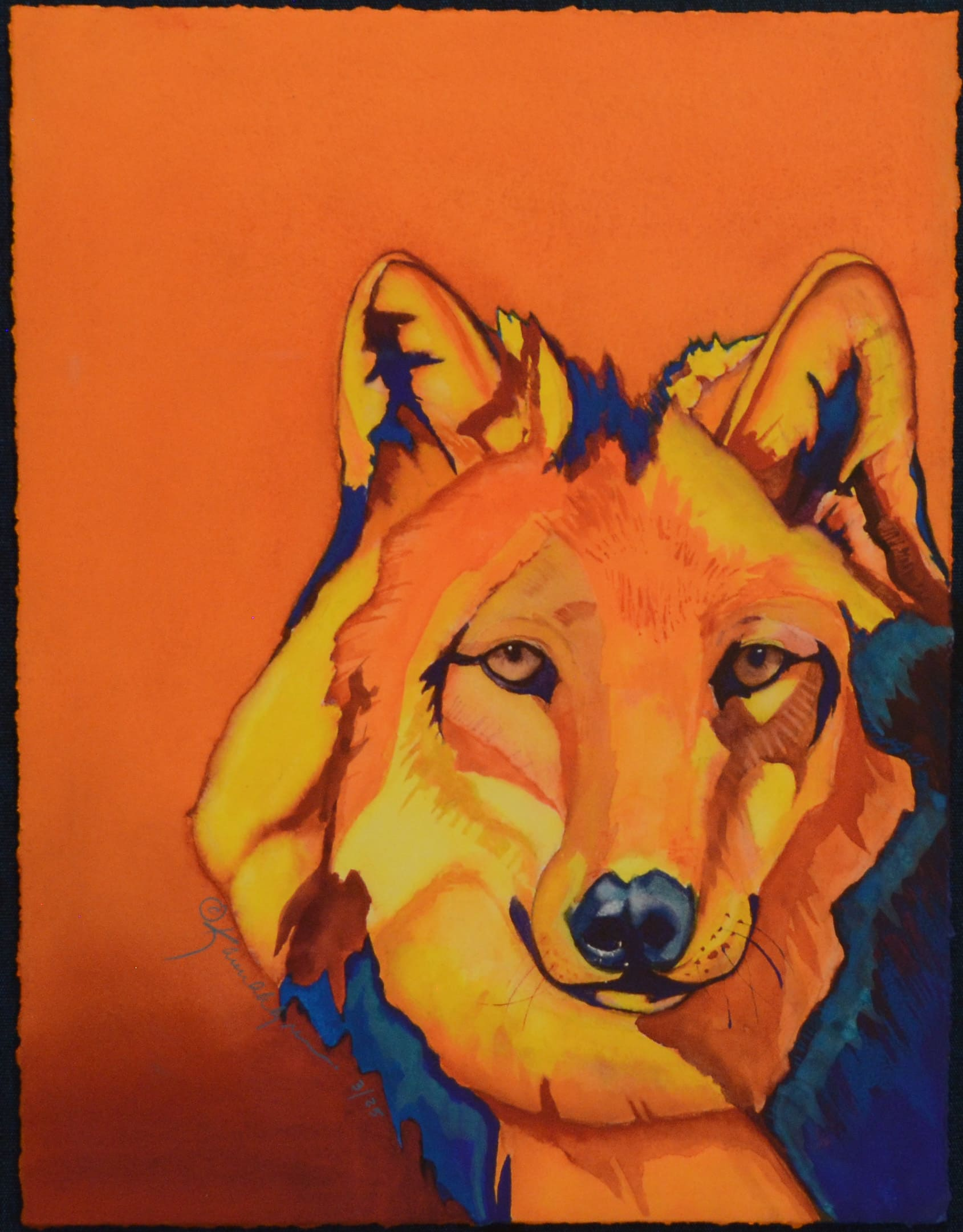 Karen Ahlgren Wolf Portrait