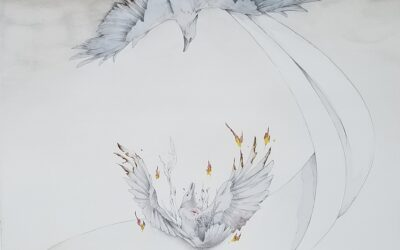 Emma Felt Crow Painting